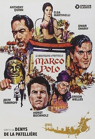 Le Meravigliose Avventure Di Marco Polo 1965 Italia DVD: Amazon.es ...