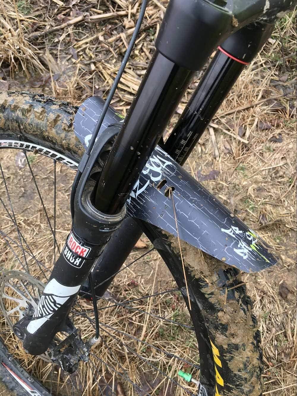 N/&t x front fender mudguard downhill xc mountain bike fork