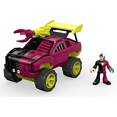 Fisher-Price Imaginext Streets of Gotham City Two-Face & SUV Action Figure: Toys & Games