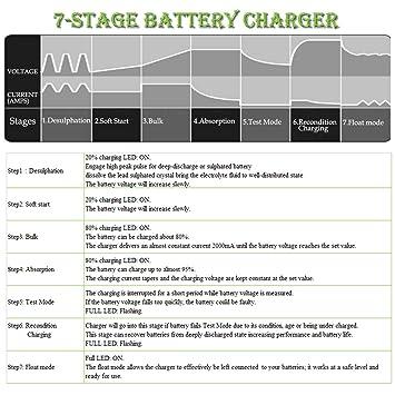 Amazon.com: Piezas de batería de coche: Automotive