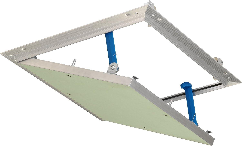 Revisionsklappe 300 x 300 mm Revisionst/ür 30x30cm Kunststoff Trockenbau Gipskarton Wartungsklappe Weiss Feuchtraumgeeignet unterputz Klappe