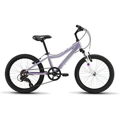 "Diamondback Bicycles Lustre 20 Youth Girls 20"" Wheel Mountain Bike, Purple : Sports & Outdoors"