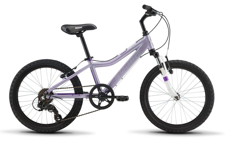 Diamondback Bicycles Lustre 20 Youth Girls 20'' Wheel Mountain Bike, Purple