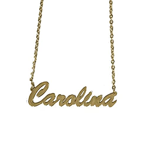 007ac0f8b160 Cadena Con Nombre Carolina