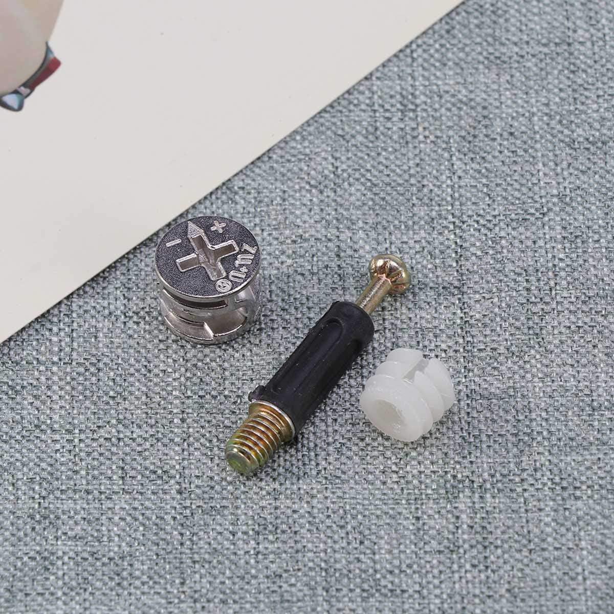 Yardwe Le connecteur de meubles 10 d/éfinit les raccords /à came des /écrous pr/é-ins/ér/és pour le tiroir en bois des meubles