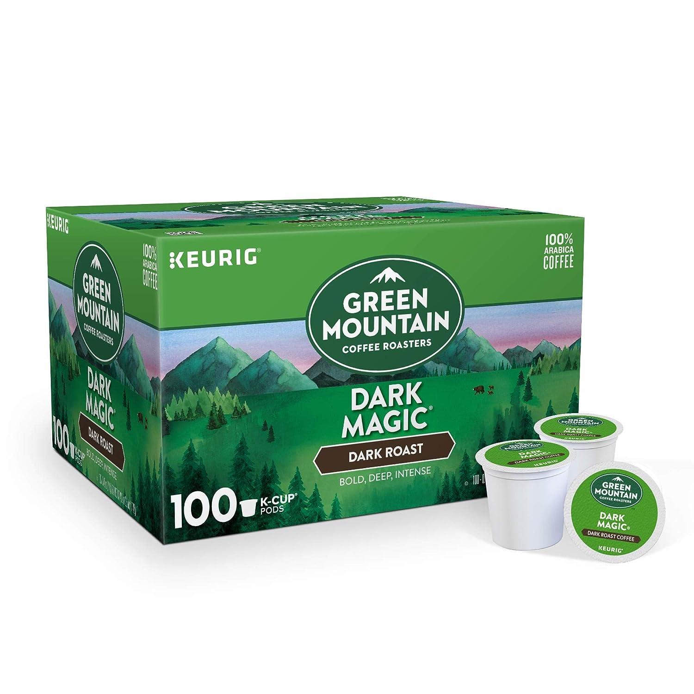 Green Mountain Coffee Roasters Keurig Single-Serve K-Cup pods, Dark Roast Coffee, 40.2 Ounce
