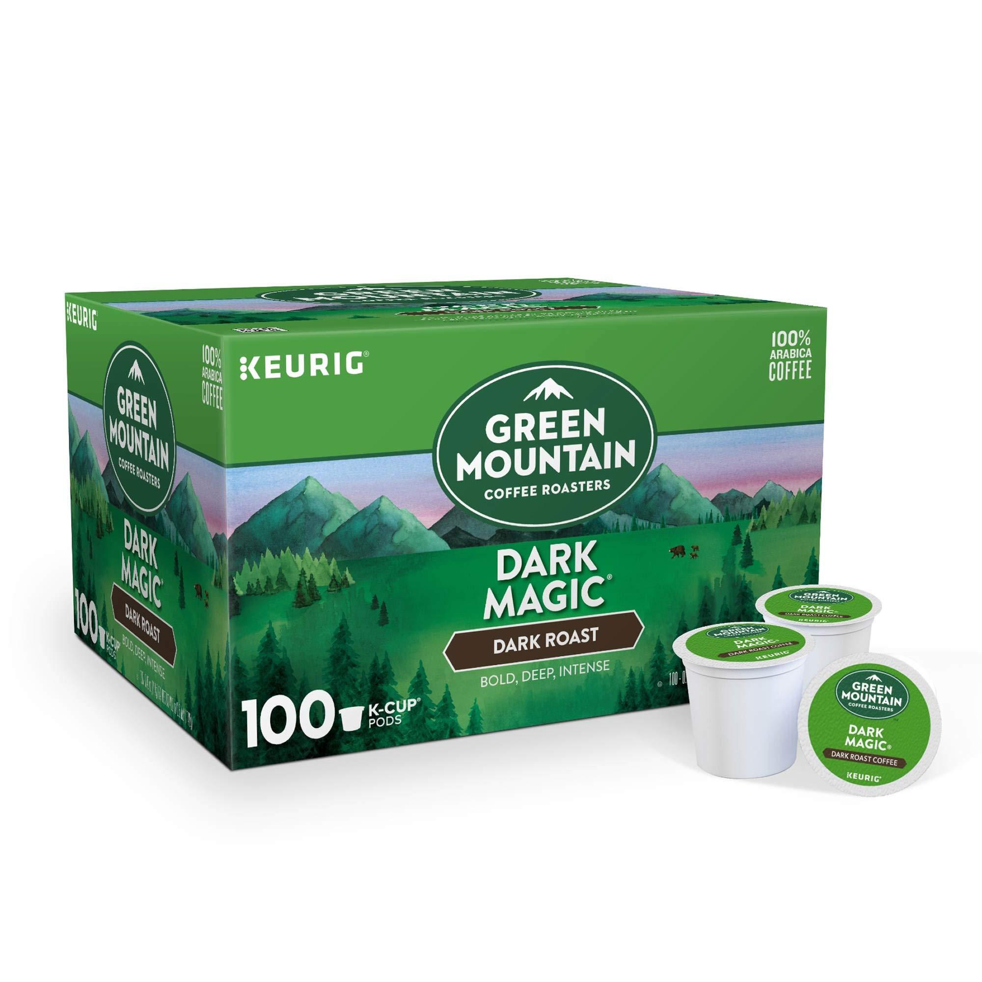 Green Mountain Coffee Roasters Keurig Single-Serve K-Cup pods, Dark Roast Coffee, 40.2 Ounce by Green Mountain Coffee Roasters