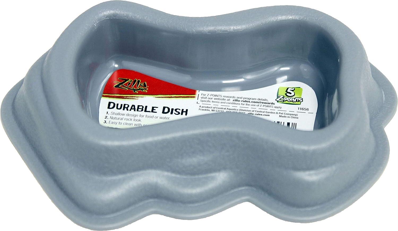 Zilla Durable Dish - Gray - Medium