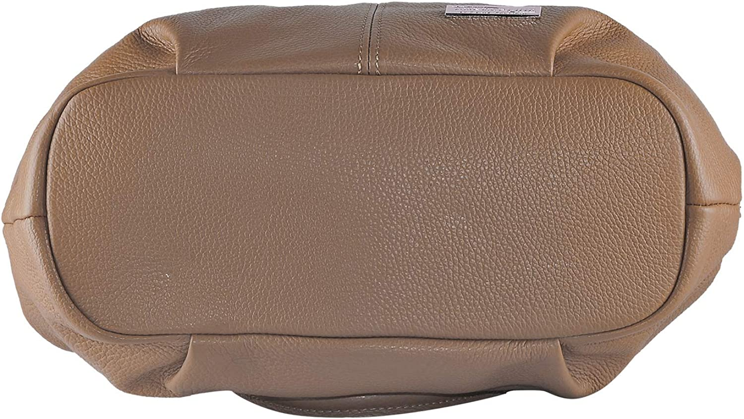 BORDERLINE - 100% Made in Italy - Borsa da Donna in Vera Pelle - GIADA Ml Cuoio
