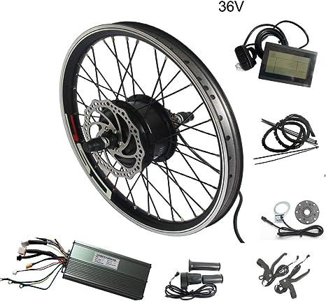 WENHU 20 Pulgadas 48V 1500W-Batería de Bicicleta eléctrica Kit de ...