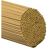 "Wooden Dowel Rods – 1/4"" x 12"" Unfinished Hardwood Sticks – For Crafts and DIY'ers – 100 Pieces – Woodpecker Crafts"