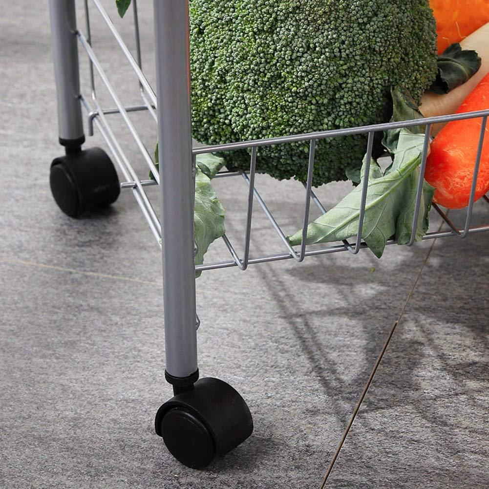 Shelf Storage Racks Pot Rack Storage Basket Shelf Baskets Creative Kitchen Landing Storage Shelf 4th Floor It Can Move Storage Rack Large Capacity ZHAOYONGLI by ZHAOYONGLI-shounajia (Image #6)