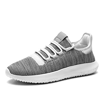 c0aef61a5 Ladies Gym Trainers Walking Trainers Womens Fitness Lightweight Sports Running  Shoes(6.5UK,Grey