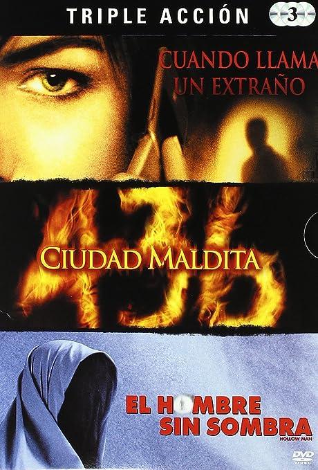 Pack Terror Hallowen 3: Cuando Llama Un Extraño / La Ciudad Maldita / El Hombre Sin Sombra DVD: Amazon.es: Varios: Cine y Series TV