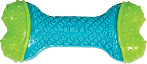 KONG - CoreStrength Bone - Long Lasting Dog Dental and Chew Toy - for Medium/Large Dogs