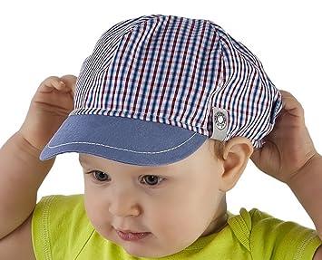 100% Cotton Baby Boy Hat Infant Boys Spring Summer Peak Cap 9 12 18 mths 15e0f59fb95