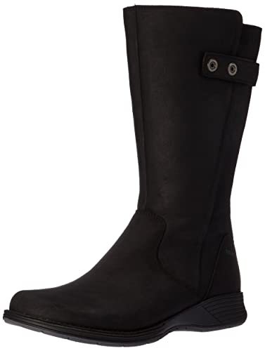 Merrell Women's Travvy Tall Waterproof Boot, Black, ...