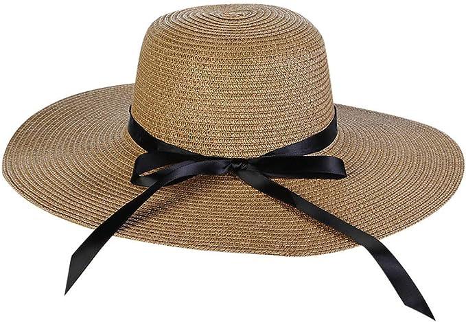 JUTOO Sombreros Mujer Sombrero Vaquero Sombrero Mujer Sombreros ...
