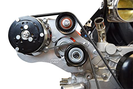 Sanden 508 LS camión SUV a/c aire acondicionado Compresor Kit de soporte LSX ca