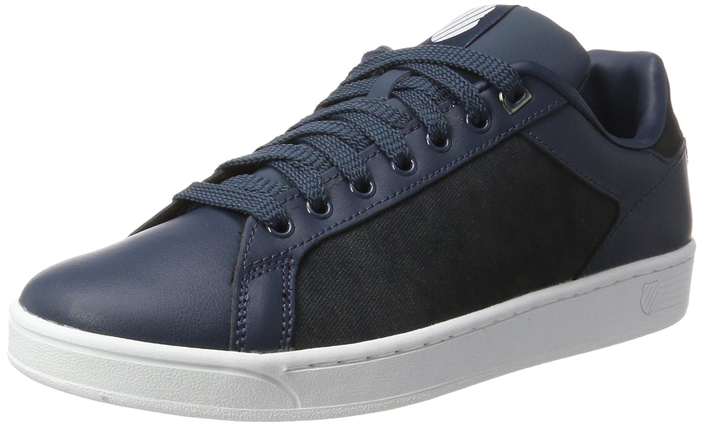 K Swiss Herren Clean Court CMF Sneaker Blau Midnight Navy/White
