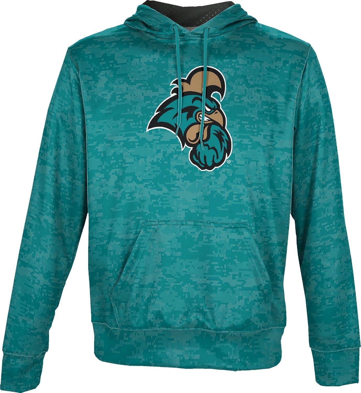 Gradient Nova Southeastern University Mens Pullover Hoodie School Spirit Sweatshirt
