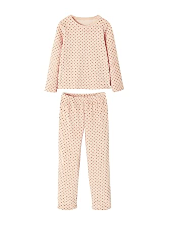 d04352799308f Vertbaudet Lot de 2 Pyjamas Velours Fille combinables  Amazon.fr ...