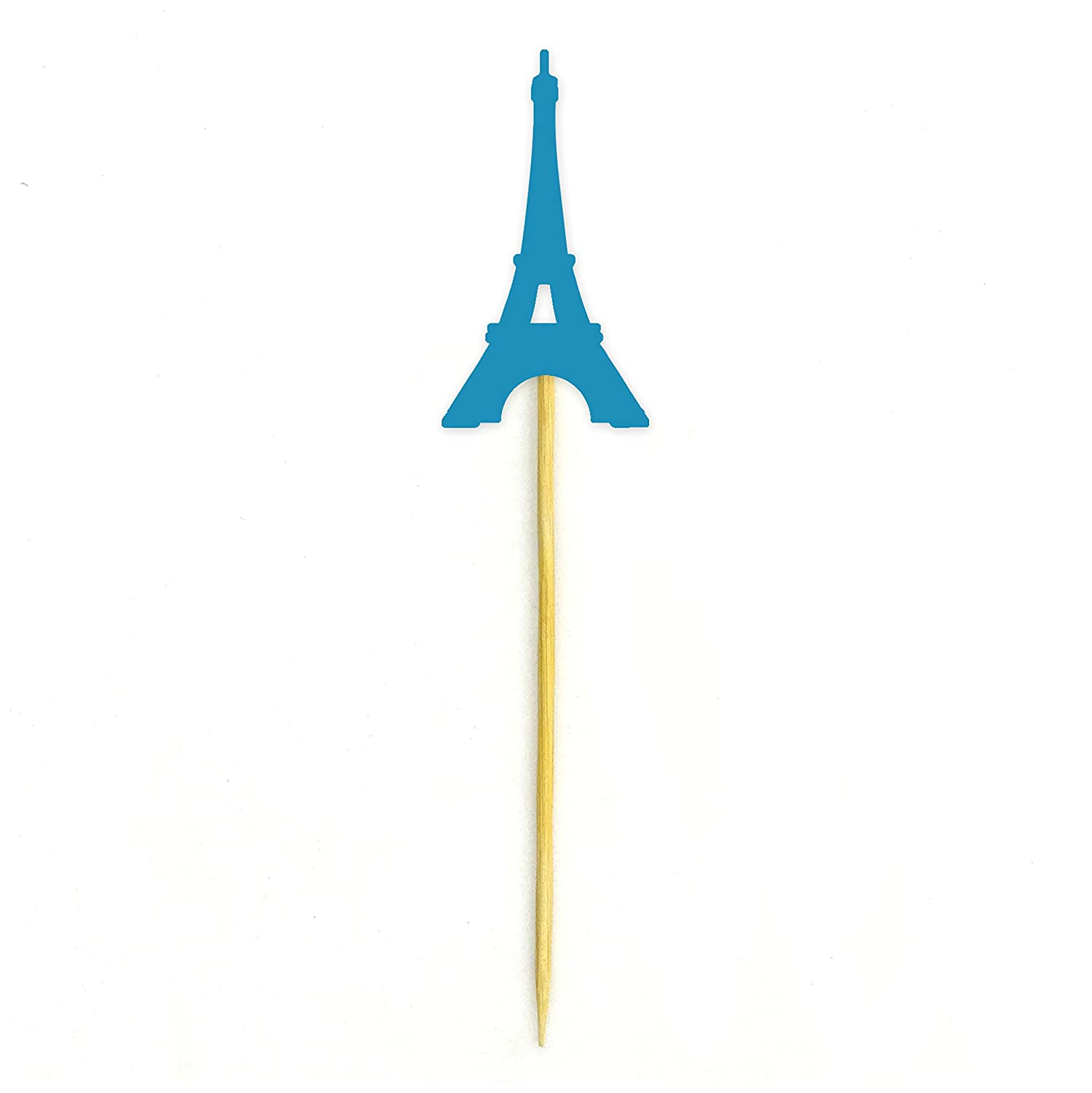 Wedding Party Dessert Decorations Pack Of 20 Darling Souvenir Eiffel Tower Cupcake Toppers