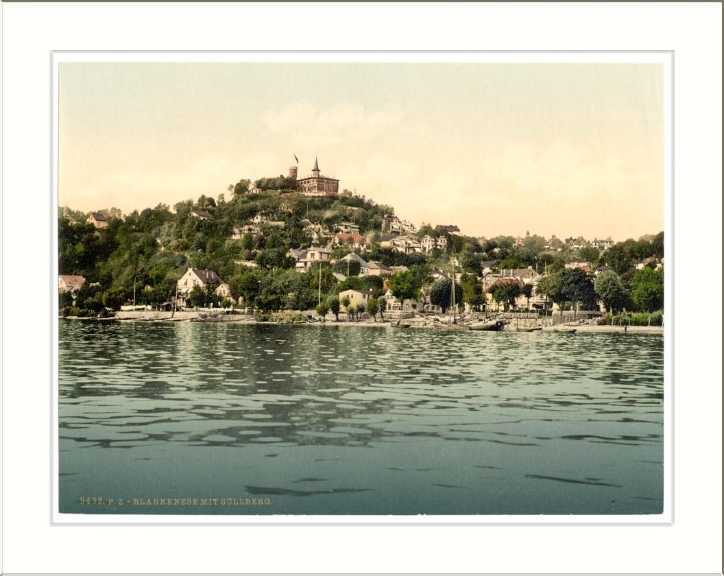 Amazon.com: Blankenese with Sullberg Hamburg Germany, c. 1890s, (L) Library  Image: Prints: Posters & Prints