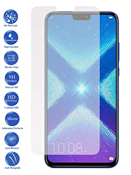 Todotumovil Protector de Pantalla Huawei Honor 8X de Cristal ...