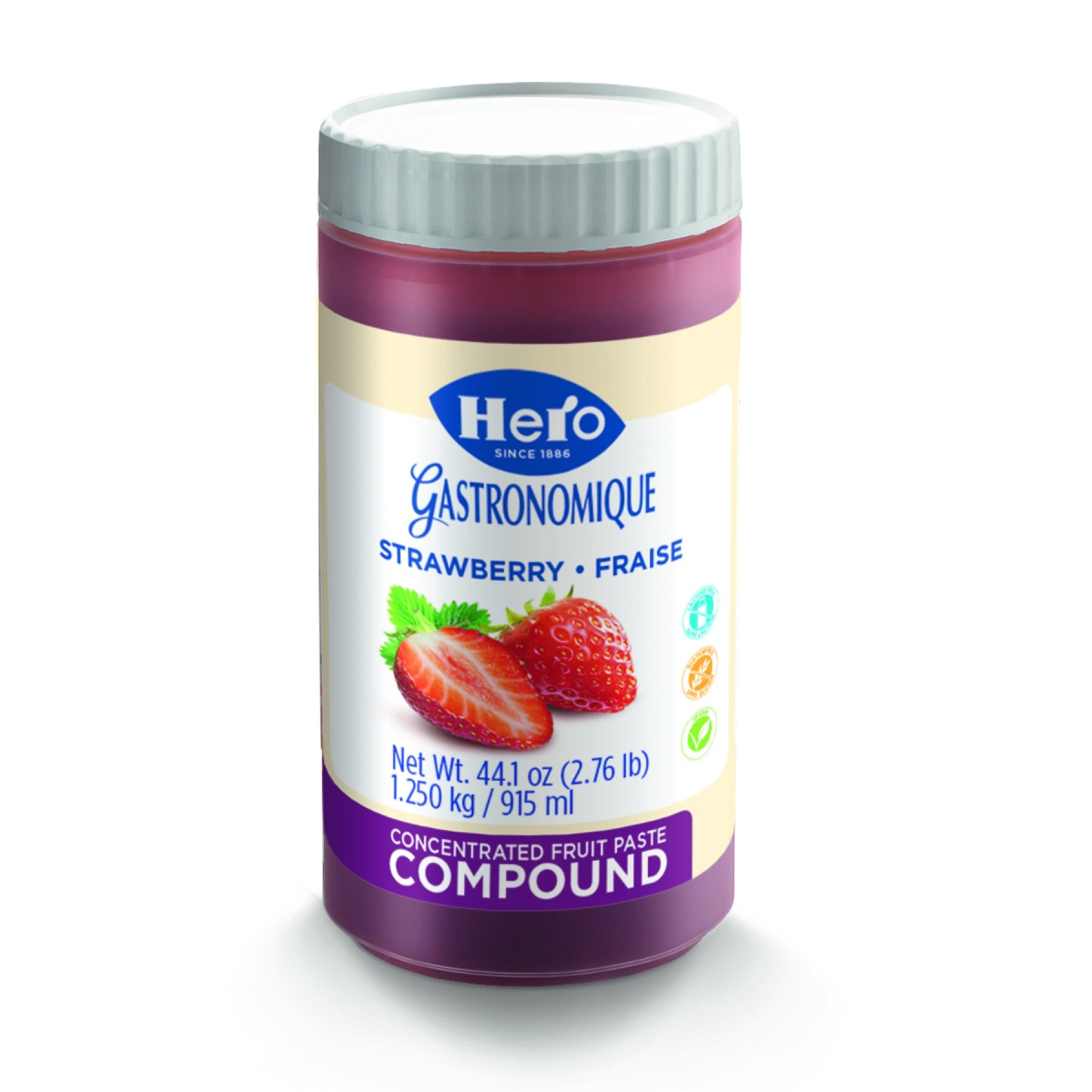 Hero Strawberry Fruit Compound, 44.1 Ounce