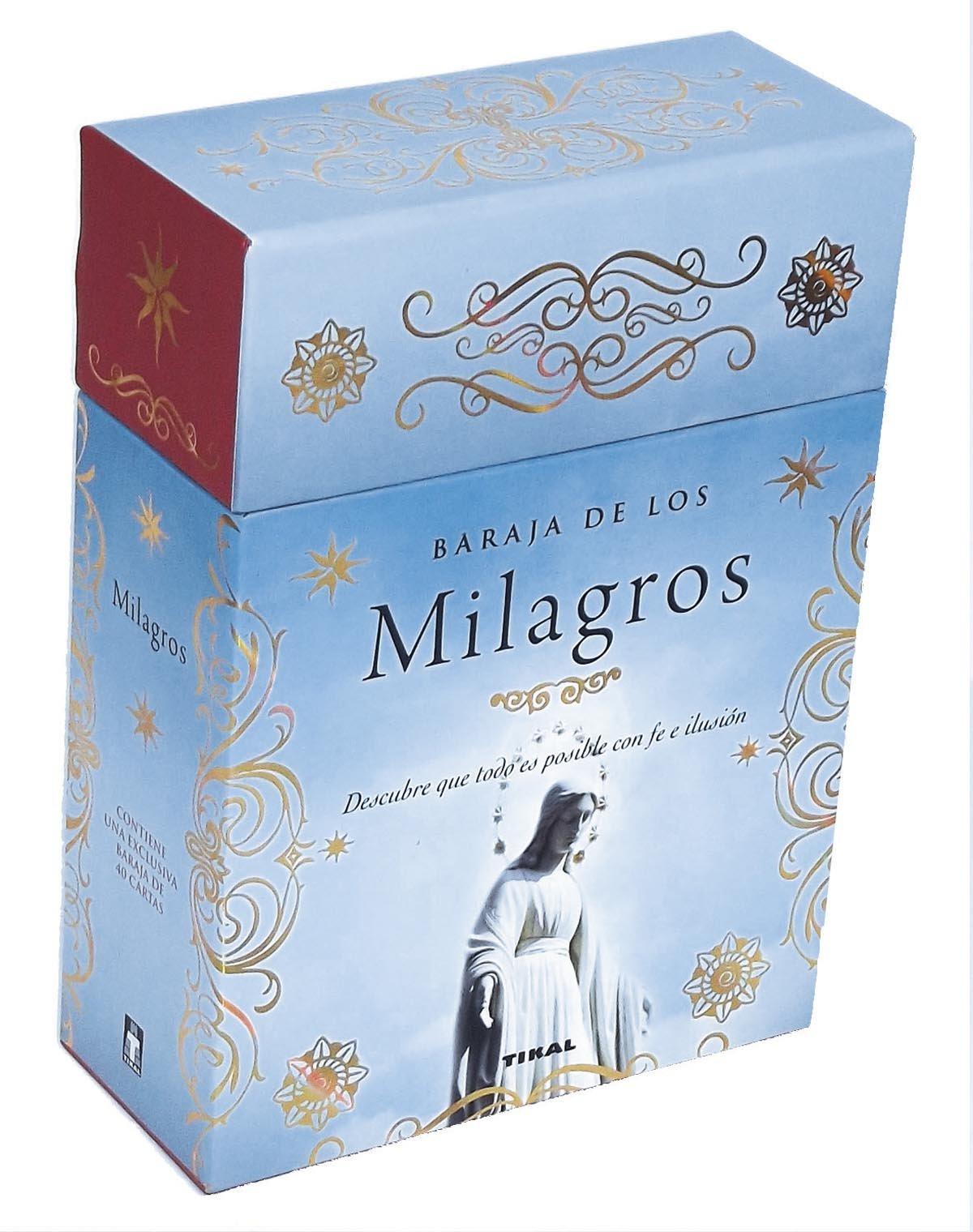 BARAJA DE LOS MILAGROS. DESCUBRE QUE TODO ES POSIBLE CON FE ...