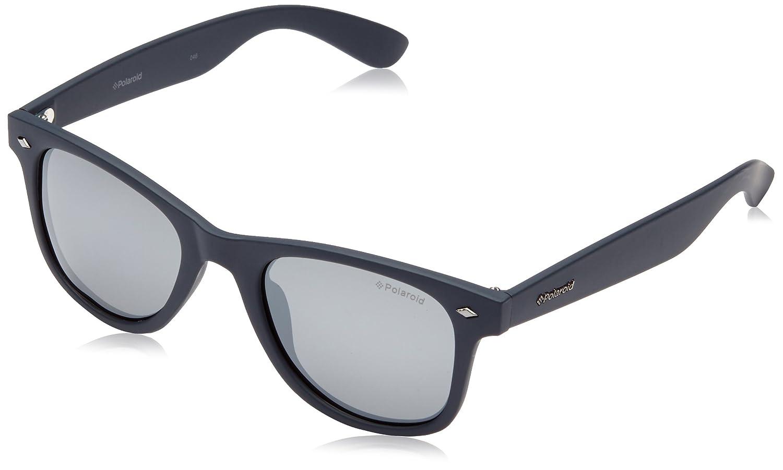 Polaroid Hombre PLD 1016/S JB MY7 Gafas de sol, Azul (Solid Blue/Grey Silmir Pz), 50: Amazon.es: Ropa y accesorios