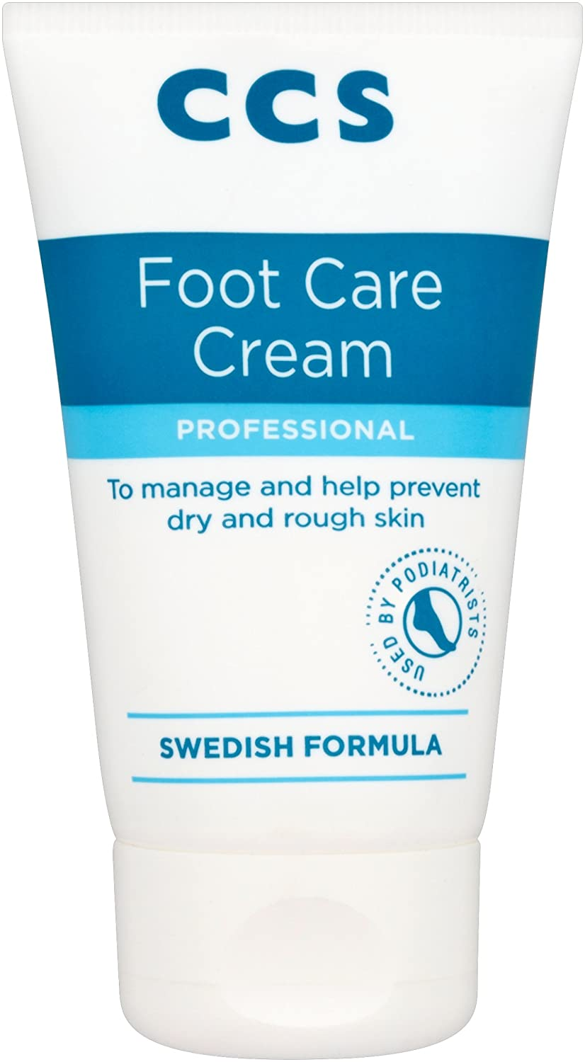 CCS Swedish Foot Cream Tube 60ml 7315980055173