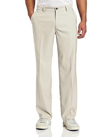 Adidas Mens ClimaLite Flat Front Pants  Amazon.co.uk  Sports   Outdoors d31015ec34b