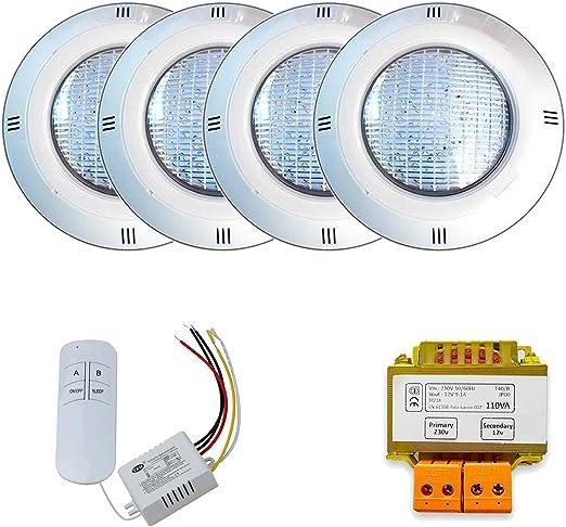 Warmpool Pack Focos de Superficie LED 18W RGB ON/Off + ...