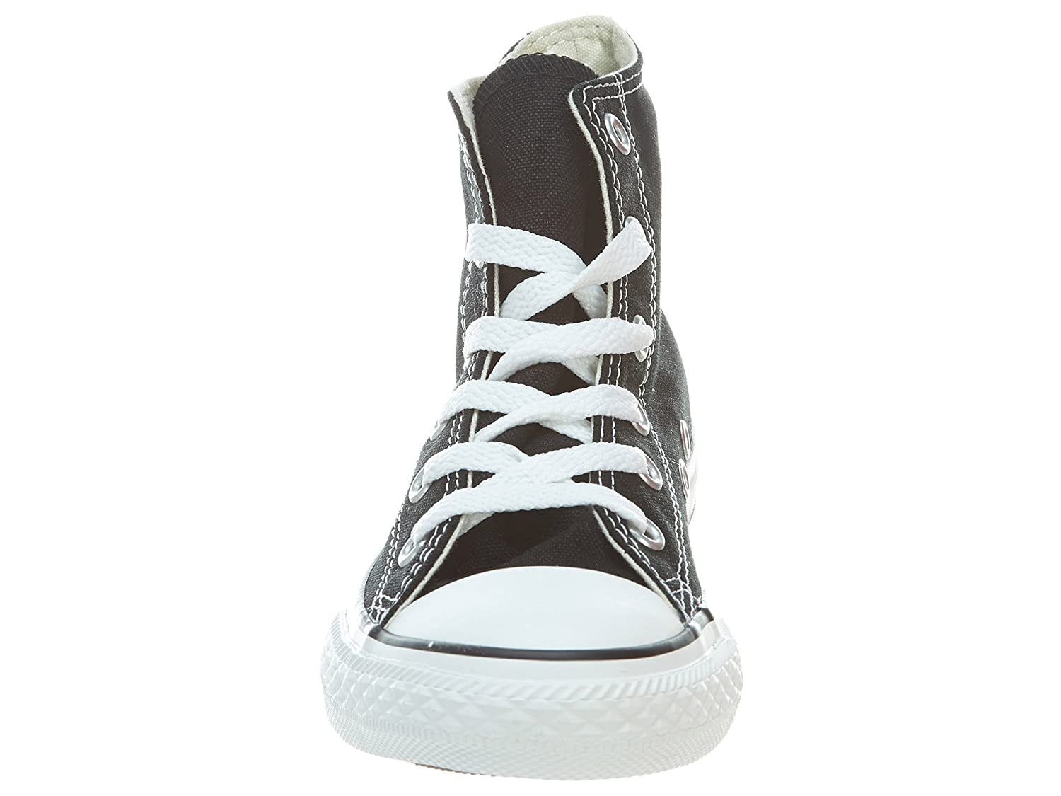 e44dd2b16d4a5 Amazon.com: Converse Yths Chuck Taylor All Star Hi Black Little Kids ...