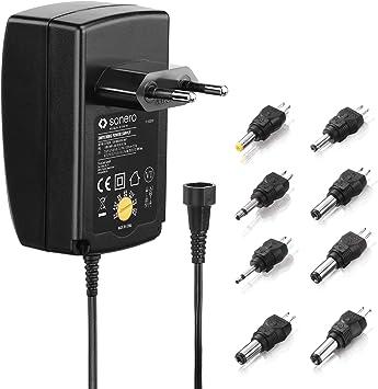 Sonero Universal Netzteil Einstellbare Spannung Elektronik