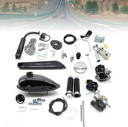 Kit de motor de gasolina de 80CC para bicicleta, kit de motor de 2 ...