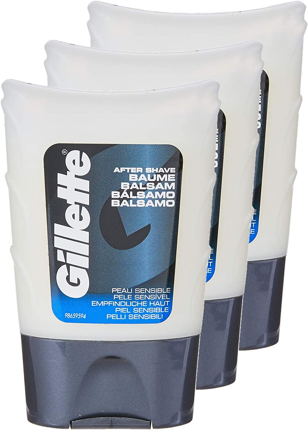 Gillette After Shave Classic Gel Piel SensiblE - 75 ml - [pack de ...