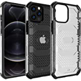Restoo Compatible with iPhone 12 Pro Max Case,Anti-Slip Hard Armor Shockproof Case with Full Body Rugged Heavy Duty Protectio