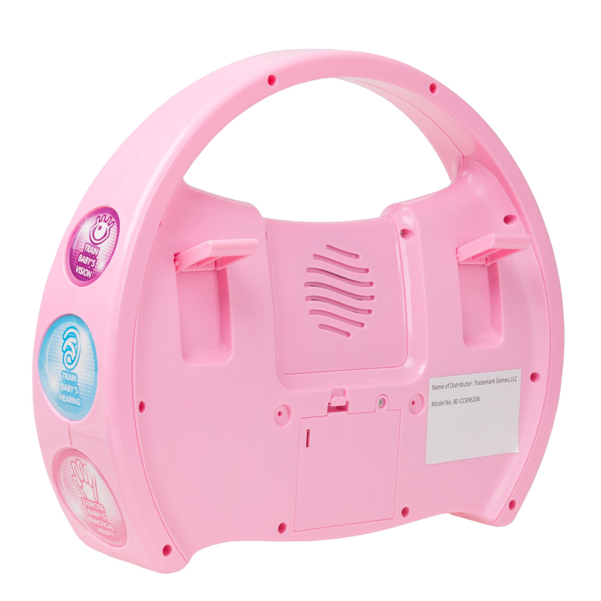 Kids Karaoke Machine with Microphone, Includes Musical Keyboard & Lights - Battery Operated Portable Singing Machine for Boys and Girls by Hey! Play! by Hey!Play! (Image #5)