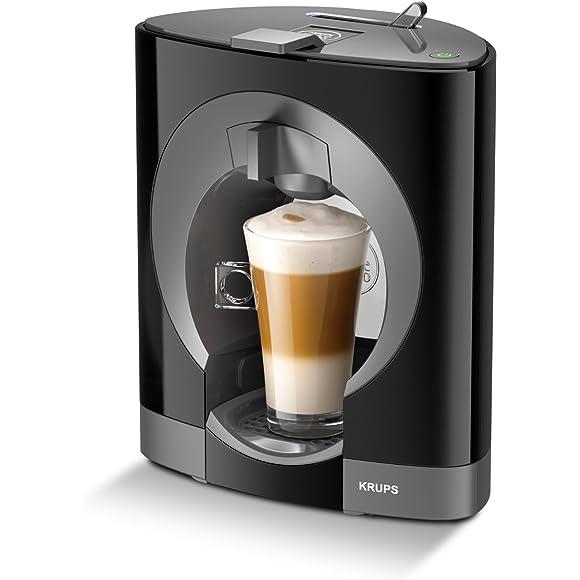 Nescafe Dolce Gusto Oblo Coffee Capsule Machine by Krups - Black