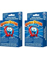 2 PACK Spinmaster Games Boom Boom Balloon Refills Game