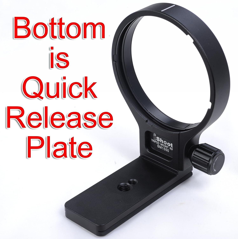 Último soporte de soporte para collar de objetivo para trípode para Sigma TS-31 AF APO 50-500 mm F4.5-6.3 DG OS HSM, 120-300 mm F2.8 DG OS HSM, 120-400 mm F4.5-5.6 DG OS HSM – El soporte es placa de liberación rápida para