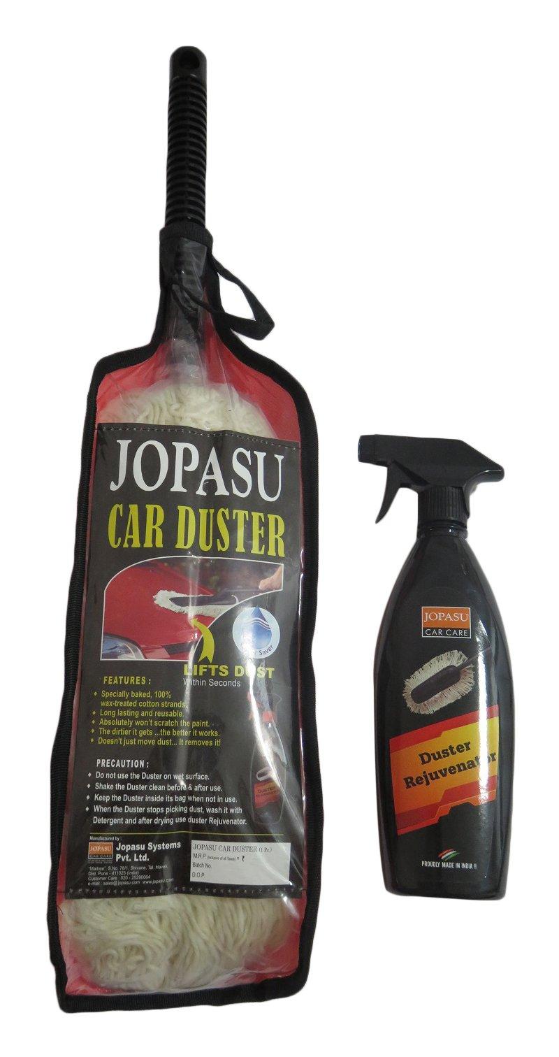 Jopasu AOCC061 Car Duster and Duster Rejuvenator (500 ml, White) product image