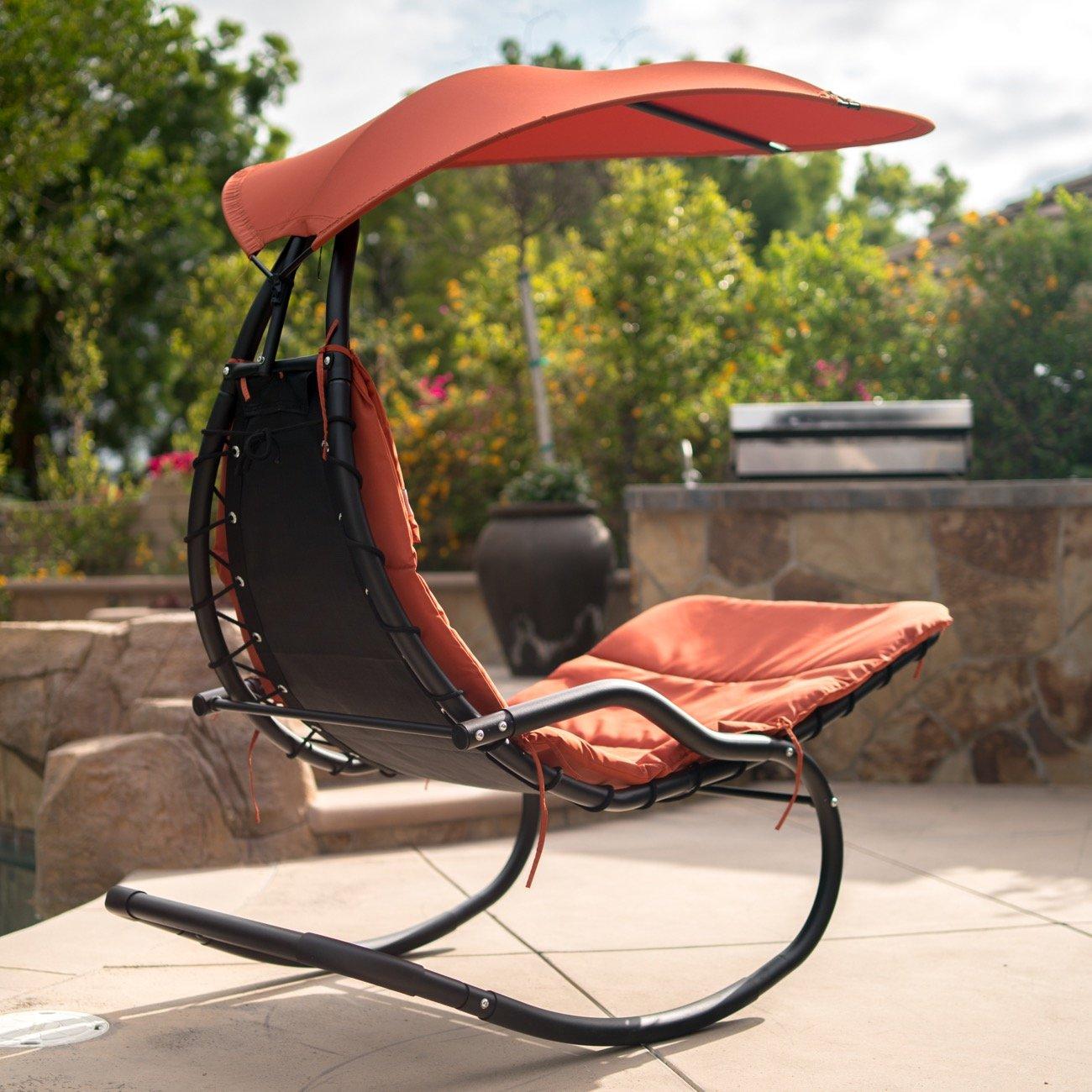 Amazon.com: Belleze – Parasol colgante para balanceo o toldo ...