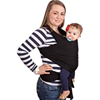 Baby Wrap - Ergo Baby Carrier by CuddleBug - Available in 9 Colors - Baby Sling, Baby Wrap Carrier, Nursing Cover and…