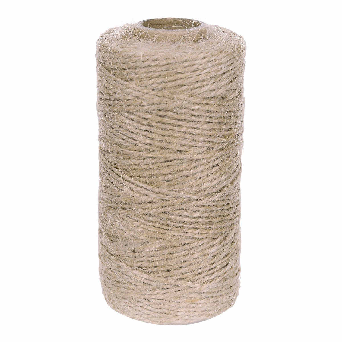 Freebily Natural Jute Twines Art and Crafts Linen String for Vintage Tags / Labels Tie Gardening Use 100M