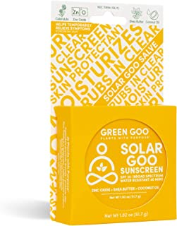product image for Green Goo Natural Skin Care Salve, Solar Goo, 30 SPF Sunscreen, 1.82-ounce Large Tin