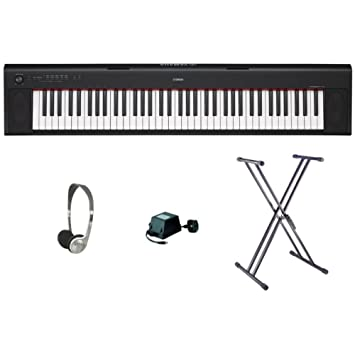 Yamaha NP-32 XX Frame Bundle Black: Amazon co uk: Musical Instruments
